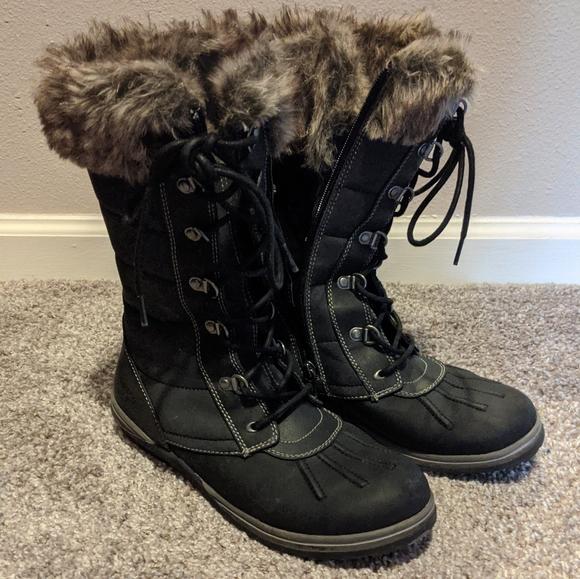 Blondo Shoes   Waterproof Fur Snow